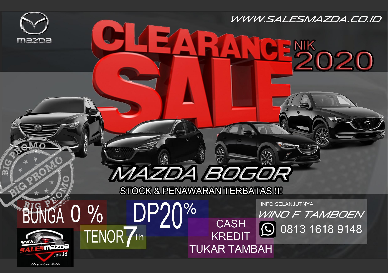 Clearance Sale Mazda nik 2020